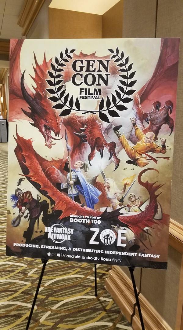 Gen Con Film Festival Poster
