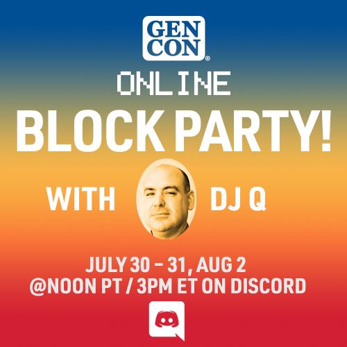 Gen Con Online Block Party