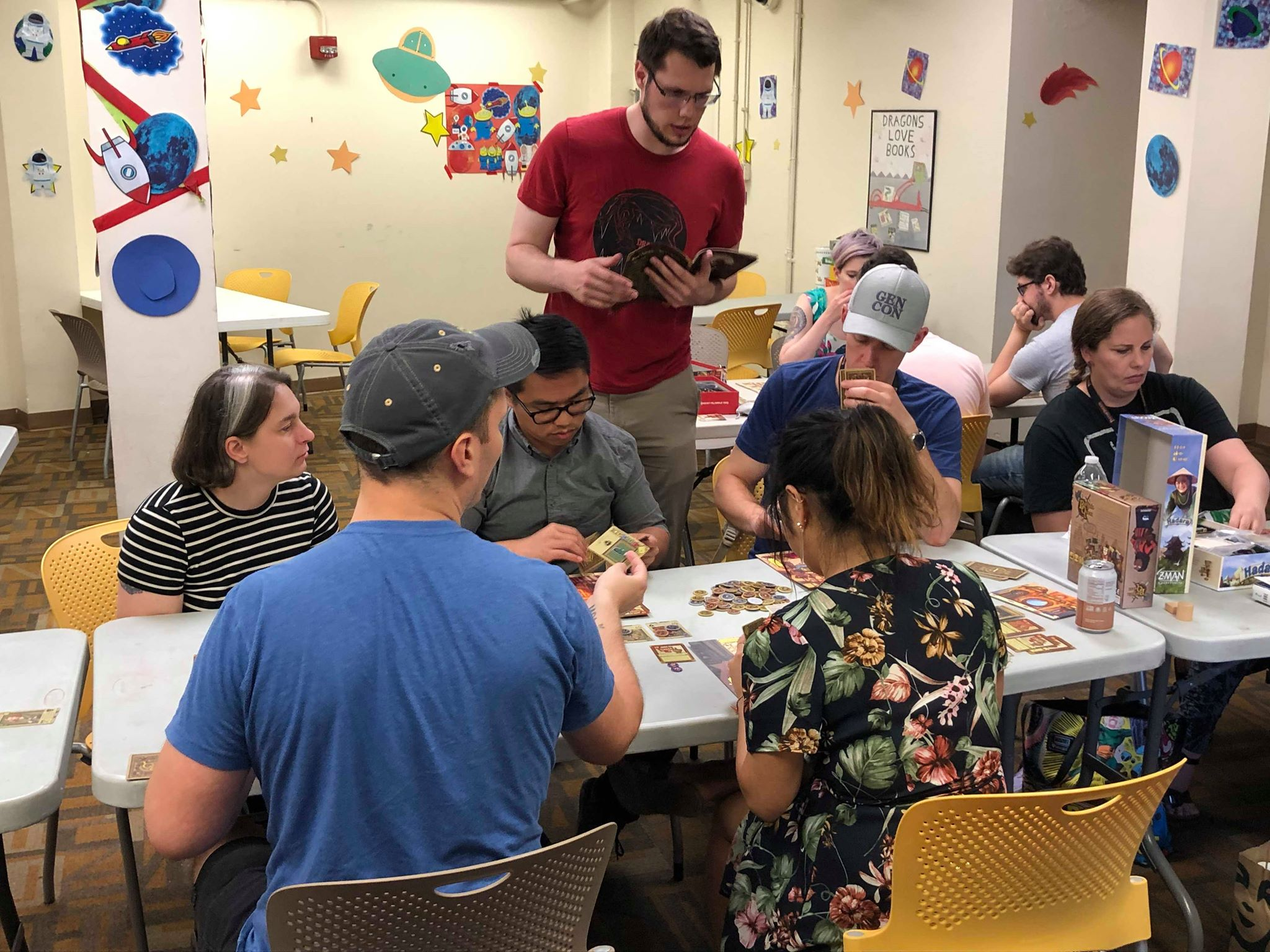 Playing Games at Pop-Up Gen Con